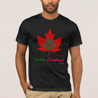 Irish Canuck St. Patricks Day T-Shirt