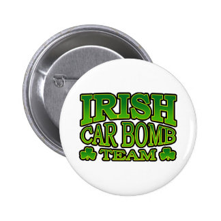 Irish Car Bomb Team Button
