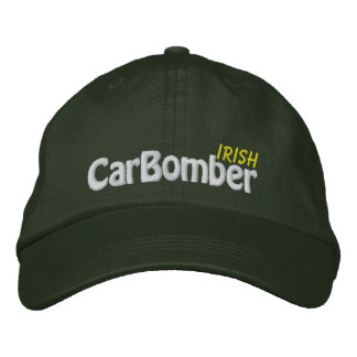 Irish Car Bomber  - CUSTOMIZABLE! Embroidered Hat