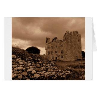 Irish Castle Card
