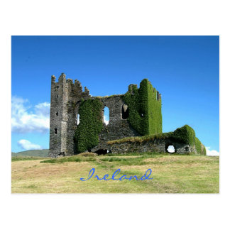 Irish Castle Postcard