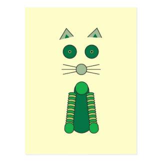 Irish CAT Postcard