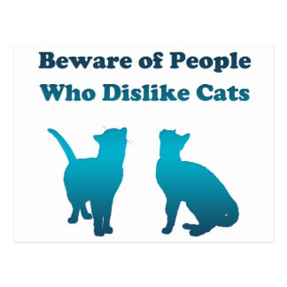 Irish Cat Proverb Postcard