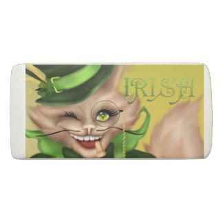 IRISH CAT WEDGE Eraser