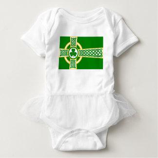Irish_Celtic_Cross Baby Bodysuit