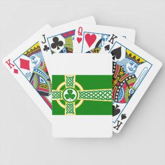 Irish_Celtic_Cross Bicycle Playing Cards