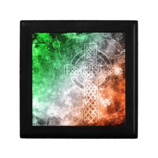 Irish Celtic Cross Gift Box
