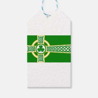 Irish_Celtic_Cross Gift Tags