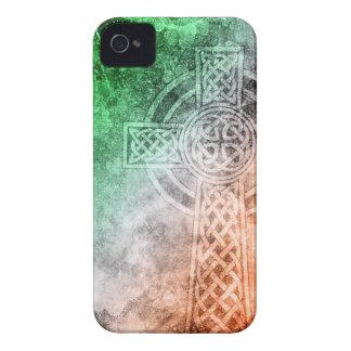 Irish Celtic Cross iPhone 4 Case-Mate Case