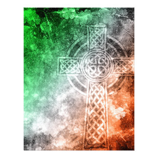Irish Celtic Cross Letterhead