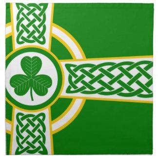 Irish_Celtic_Cross Napkin
