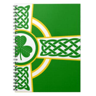 Irish_Celtic_Cross Notebook
