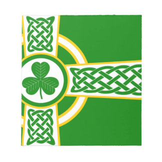 Irish_Celtic_Cross Notepad