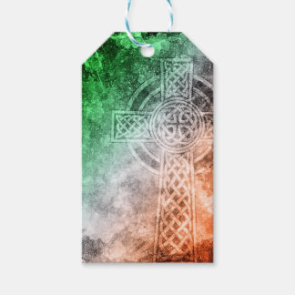 Irish Celtic Cross Pack Of Gift Tags