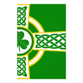 Irish_Celtic_Cross Stationery