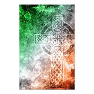 Irish Celtic Cross Stationery