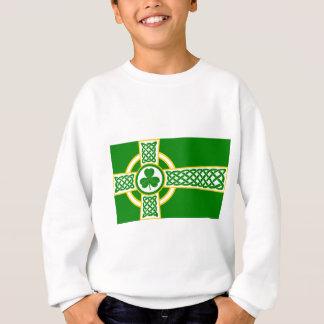 Irish_Celtic_Cross Sweatshirt