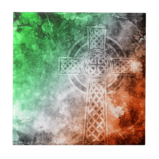 Irish Celtic Cross Tile