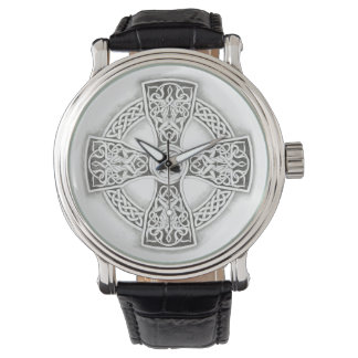 Irish Celtic Cross Vintage Watch