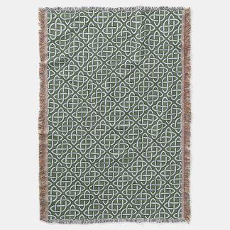 Irish Celtic Knot Throw Blanket