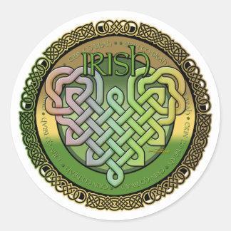 Irish Celtic knots - St Patrick's day Stickers