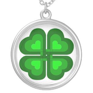 Irish Celtic Shamrock Custom Jewelry