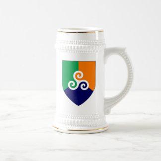 Irish Celtic Shield Stein