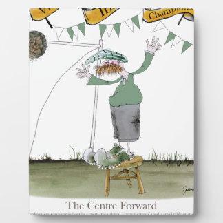 irish centre forward plaque