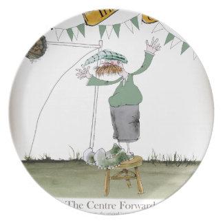 irish centre forward plate