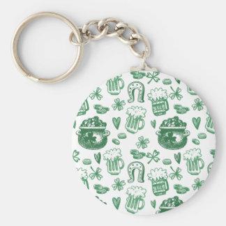 Irish Charm Keychain   Irish Gifts