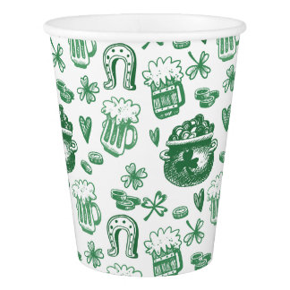 Irish Charm Paper Party Cups