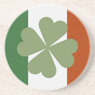 Irish Charming Lucky Clover Coaster