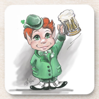 Irish Cheers! Cork Coaster