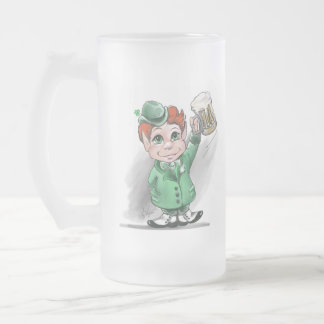 Irish Cheers! Frosted Beer Mug