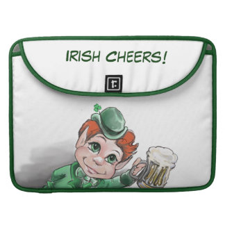 Irish Cheers! Rickshaw Flap Sleeve Sleeve For MacBook Pro