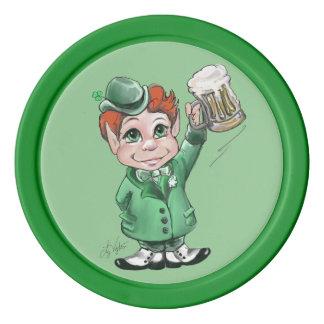 Irish Cheers! Sláinte! Poker Chips
