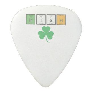 Irish chemcial elements Zc71n Acetal Guitar Pick