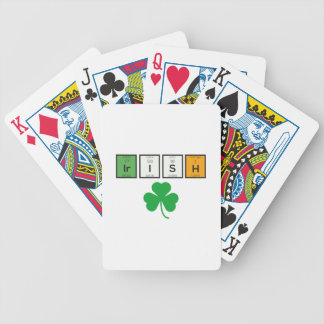 Irish chemcial elements Zc71n Bicycle Playing Cards
