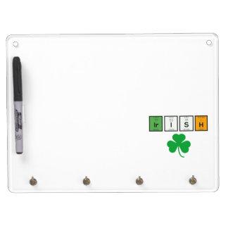 Irish chemcial elements Zc71n Dry-Erase Board