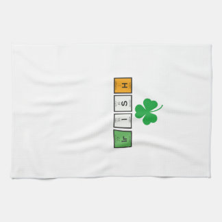 Irish chemcial elements Zc71n Kitchen Towel