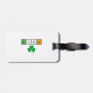 Irish chemcial elements Zc71n Luggage Tag