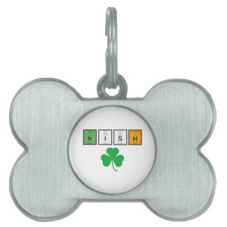 Irish chemcial elements Zc71n Pet Tag