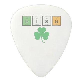Irish chemcial elements Zc71n Polycarbonate Guitar Pick