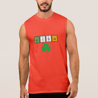 Irish chemcial elements Zc71n Sleeveless Shirt