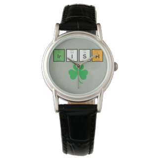 Irish chemcial elements Zc71n Watch