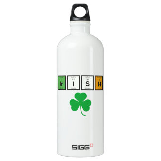 Irish chemcial elements Zc71n Water Bottle