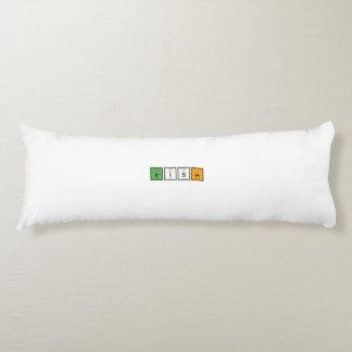 Irish chemcial elements Zy4ra Body Pillow