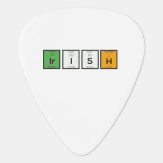 Irish chemcial elements Zy4ra Guitar Pick