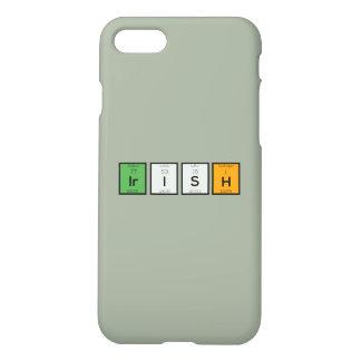 Irish chemcial elements Zy4ra iPhone 8/7 Case