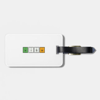 Irish chemcial elements Zy4ra Luggage Tag